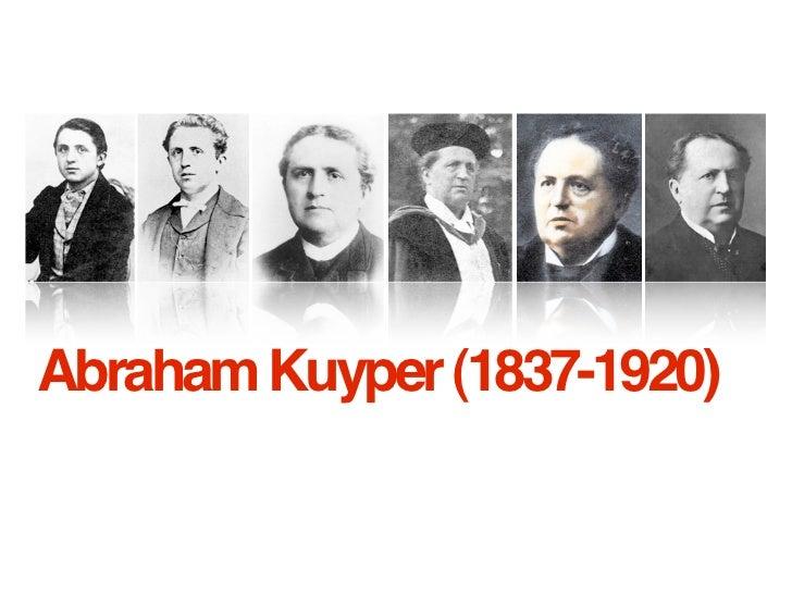 Abraham Kuyper (1837-1920)
