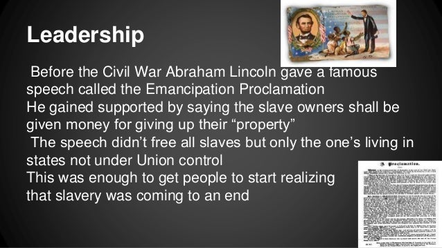 the leadership of abraham lincoln essay An essay or paper on abraham lincoln in civil war as president of the united states abraham lincoln not only played a major role during the civil war but also in the.