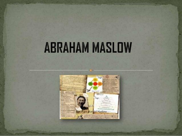  Nacido y criado en Brooklyn, Abraham Maslow fue el  mayor de siete hermanos cuyos padres eran emigrantes judíos proceden...