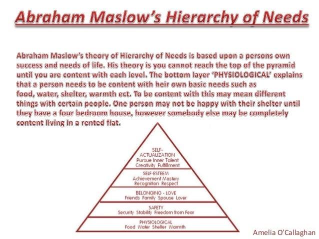 abraham maslow essay