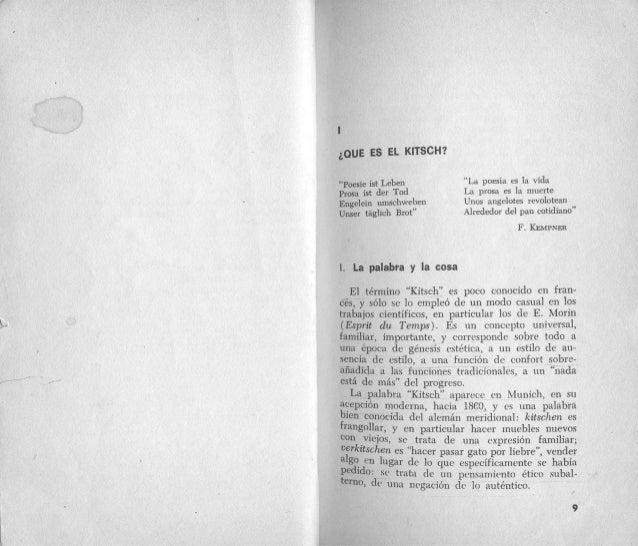 Abraham Moles, El kitsch, arte de la felicidad, PDF Slide 3