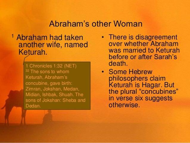 Abraham S Many Sons Genesis 25