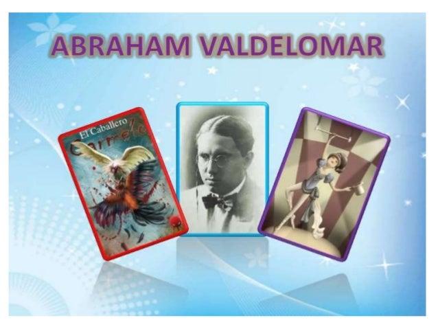 El Posmdernismo Abraham valdelomar