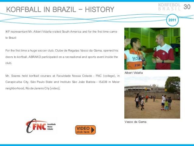 Korfball history