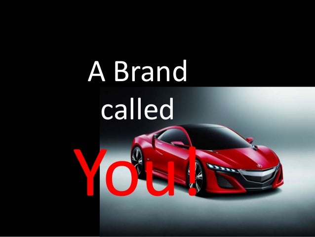 A Brand called You!
