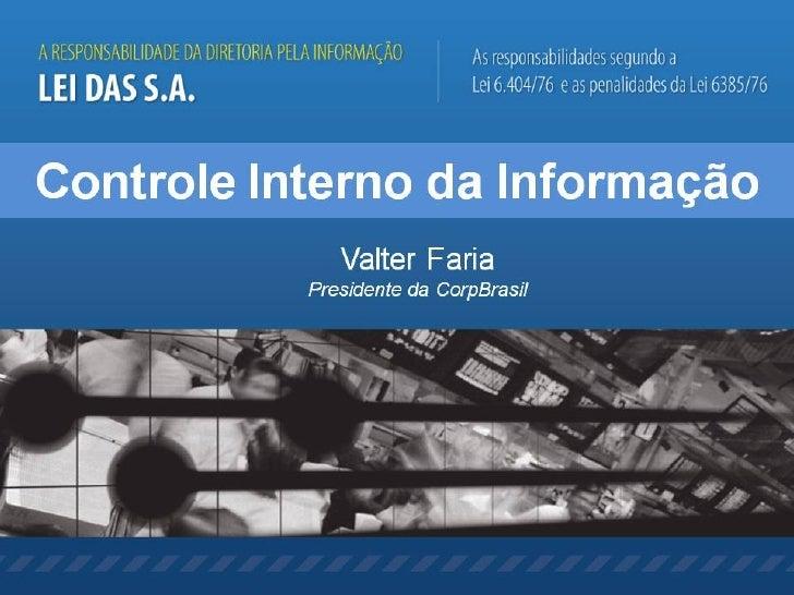 Controle Interno da Informacao - Valter Faria Out2008