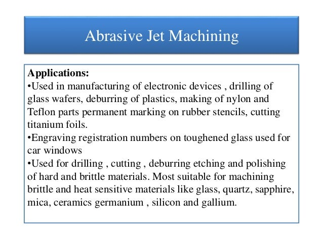 application of impact of jet