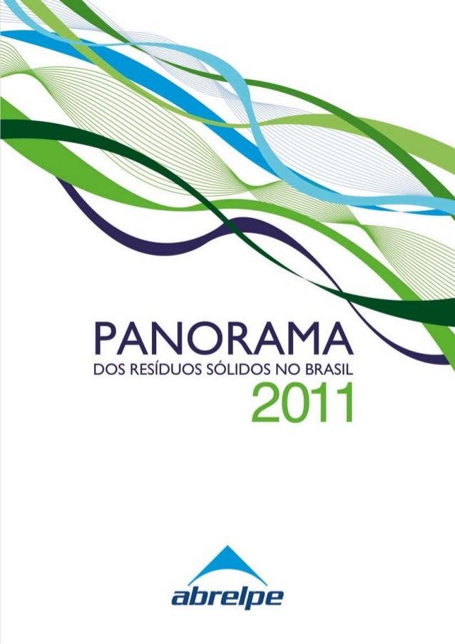 PANORAMADOS RESÍDUOS SÓLIDOS NO BRASIL 2011