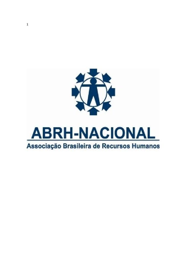 ABRH Nacional Agosto 2009