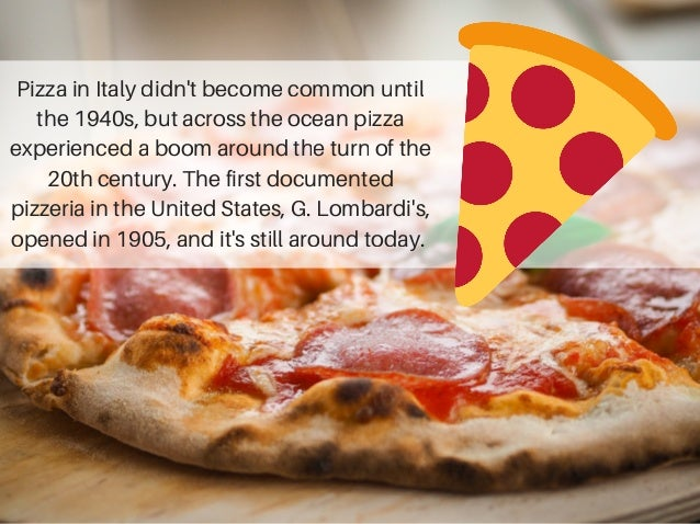 A Brief History of Pizza