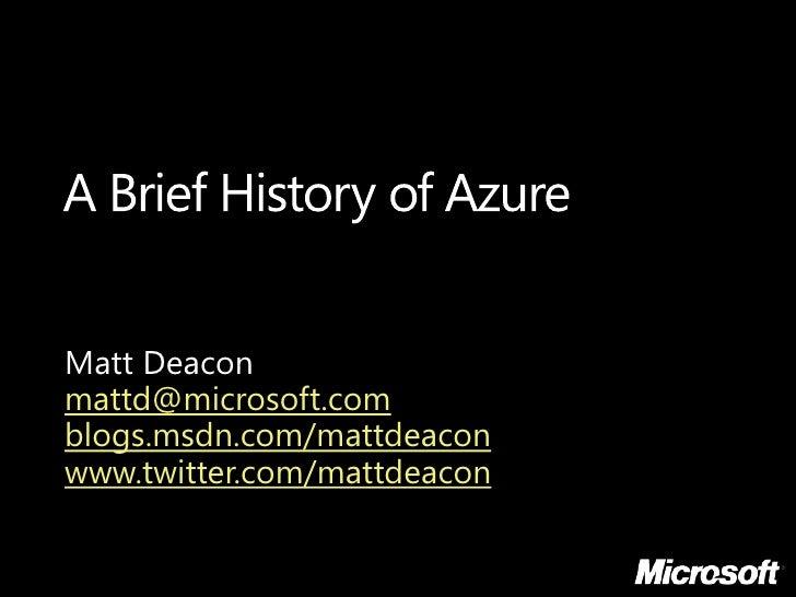 Essays brief history of microsoft