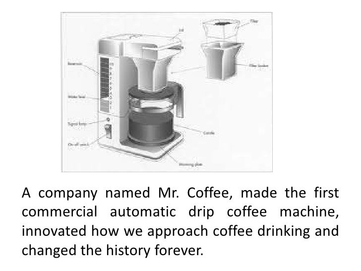 Automatic Drip Coffee Maker History : A brief history of coffee makers