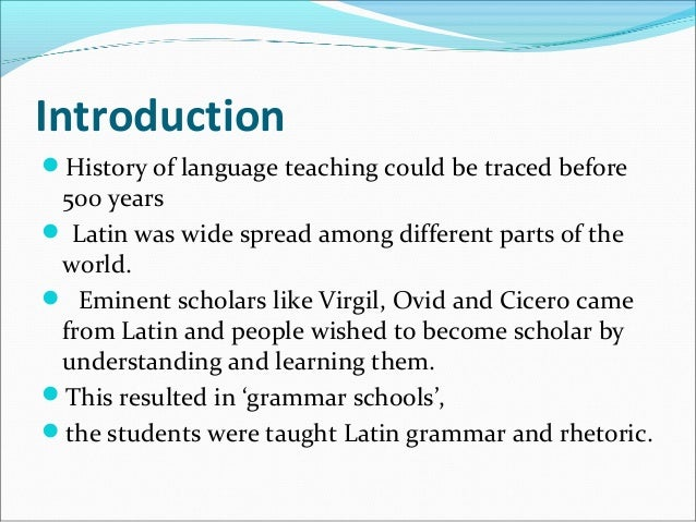 brief history of the english language The latin language has seen not less than seven major periods throughout its long history as a major language of the spanish, portuguese and romanian english, however the following articles present a brief history of the latin language periods, providing a synopsis of.