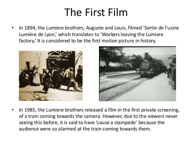 film history facts