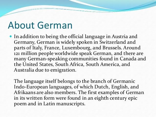 A Brief History of German Language Evolution