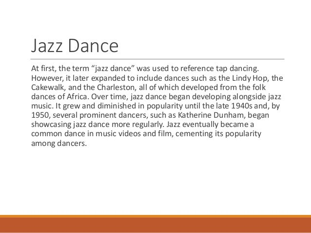 a brief history of jazz Jazz a true american art form  we use your linkedin profile and activity data to personalize ads and to show you more relevant ads.
