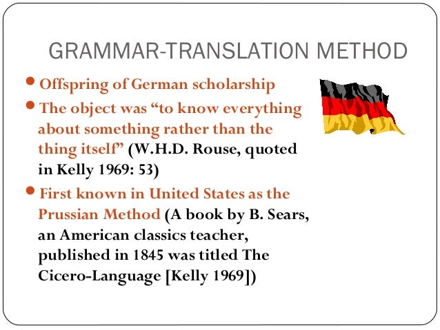 A brief history of language teaching, the grammar