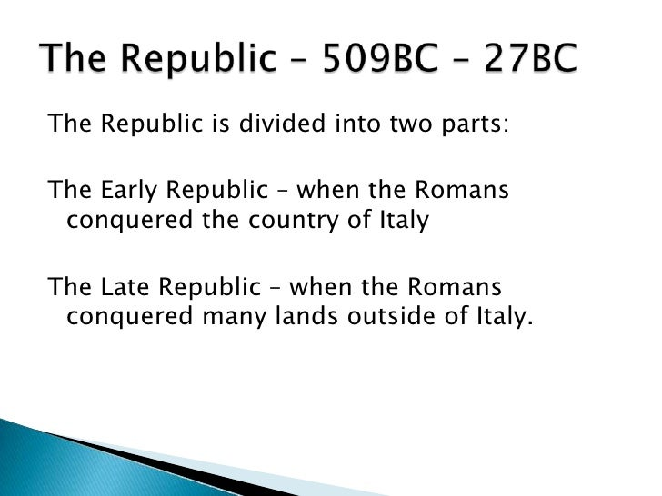 brief history of rome A brief history of rome below are a list of the is important dates in the history of rome 753bc romulus kills his brother remus and founds rome c 616bc tarquinius priscus is made king 507-6bc the etruscans are expelled the roman republic is declared.
