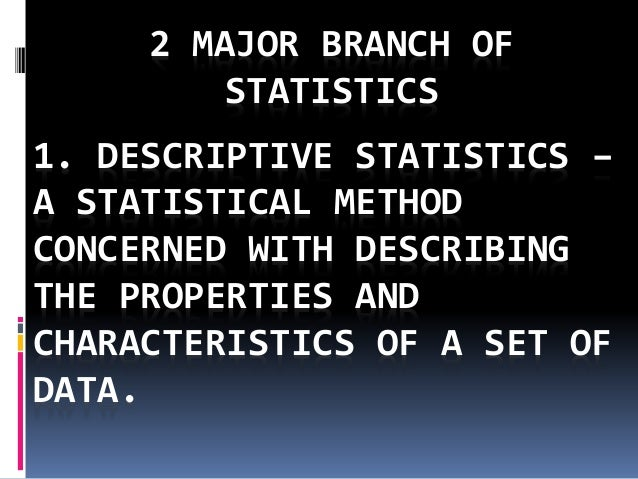 brief history of statistics pdf