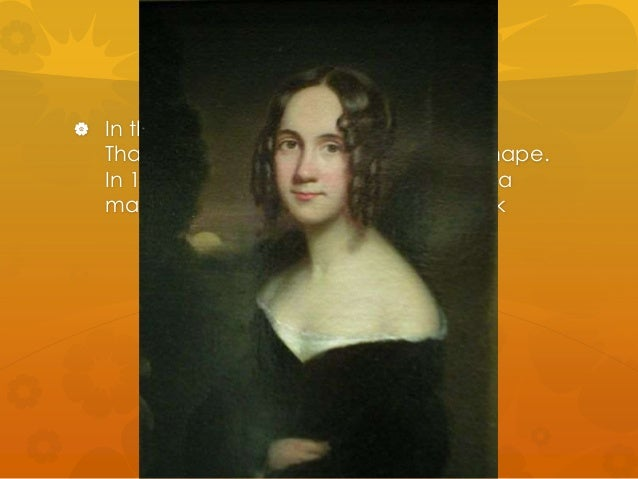  In the 19th century, the modern  Thanksgiving holiday started to take shape.  In 1846, Sarah Josepha Hale, editor of a  ...
