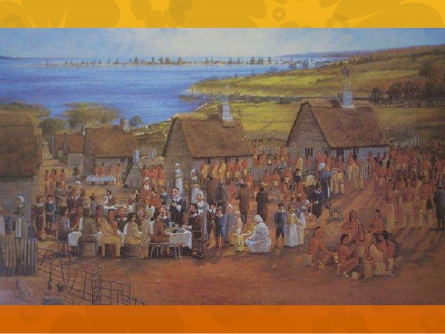  One day that fall, four settlers were sent to  hunt for food for a harvest celebration. The  Wampanoag heard gunshots an...