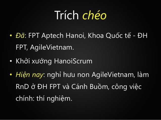 A brief introduction to agile  duong trong tan 2014-06 Slide 2