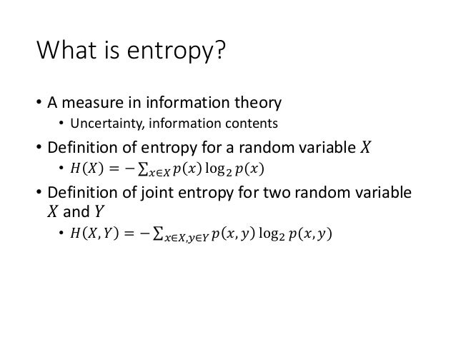 an introduction to the entropy concept The objective of this paper is to analyze the role of entropy in pynchon's short story entropy and his novel the crying of lot 49, in which we can observe a change in pynchon's perspective on the concept of entropy with the introduction of maxwell's demon.