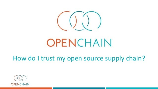 How do I trust my open source supply chain?
