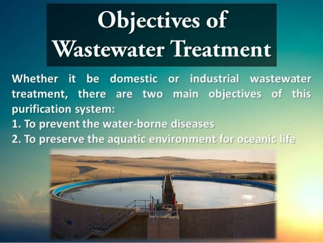 A Brief Introduction to Wastewater Treatment
