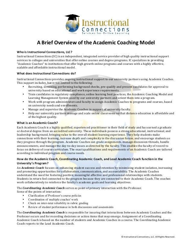 Academic Coach Sample Resume Professional Instructional