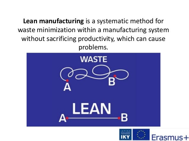 Lean manufacturing is a systematic method for waste minimization within a manufacturing system without sacrificing product...