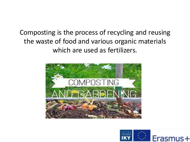 Composting is the process of recycling and reusing the waste of food and various organic materials which are used as ferti...
