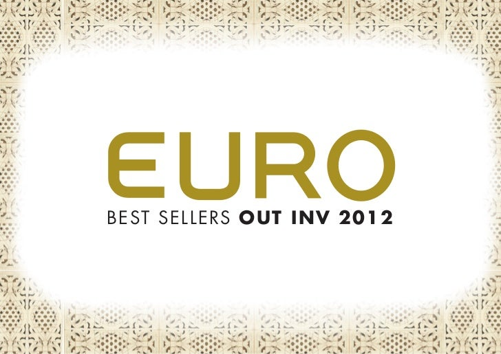 BEST SELLERS OUT INV 2012