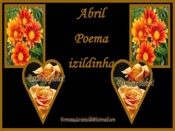 Abril Poema izildinha