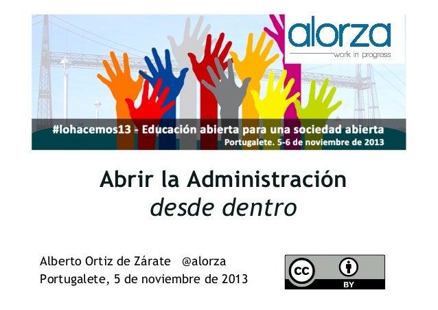 Captura de pantalla 2013-10-15 a la(s) 08.41.09  Abrir la Administración  desde dentro Alberto Ortiz de Zárate @alorza Por...