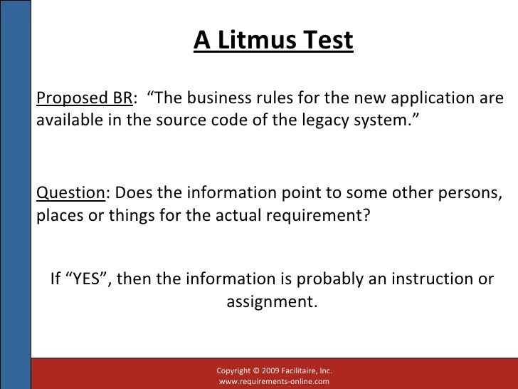 how to read a litmus test