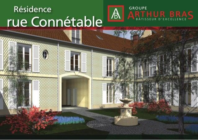 Résidence  rue Connétable
