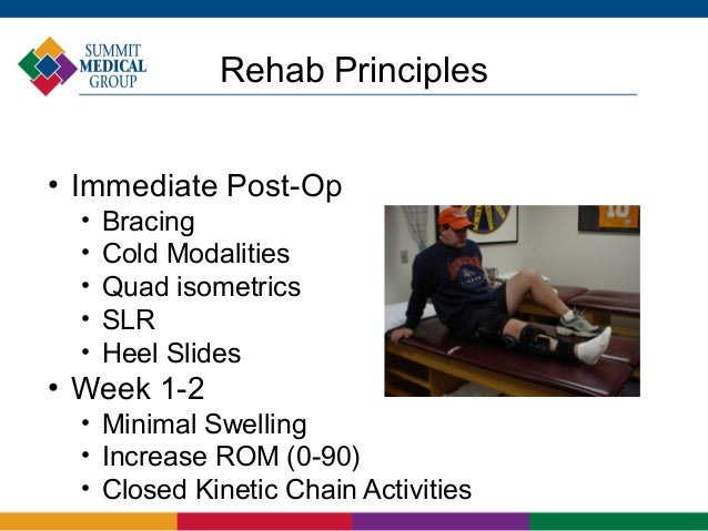 full kinetic chain manipulative therapy on the knee Patellar injury and dislocation treatment when the knee is near full initial rehabilitation programs start with the isometric open kinetic chain.