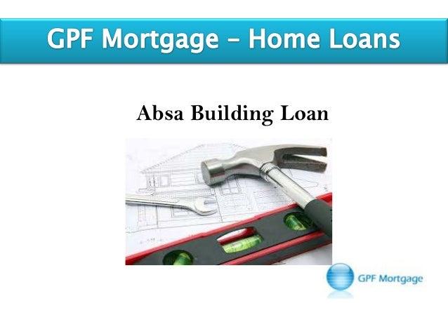 Absa Building Loan