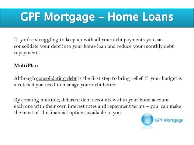 Consolidating debt into mortgage