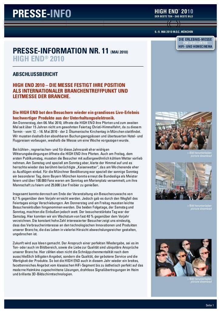 PRESSE-INFO                                                                                                   2010        ...