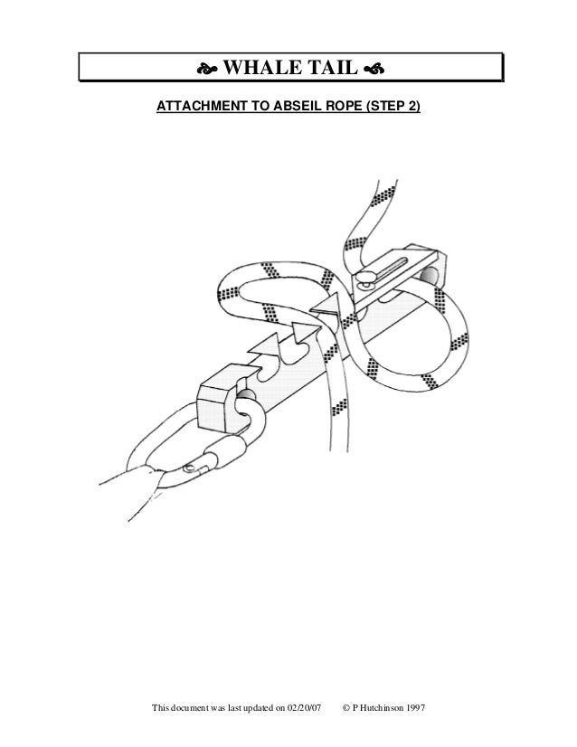 Abseiling techniques manual