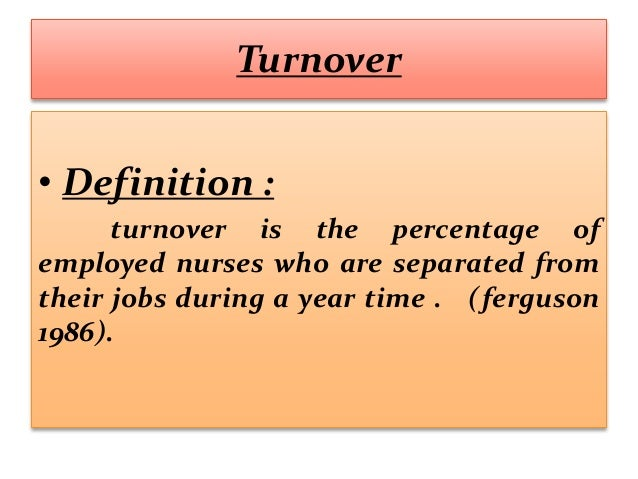 dysfunctional turnover This study investigates organizational and environmental determinants of functional and dysfunctional turnover functional turnover is negatively associated with.