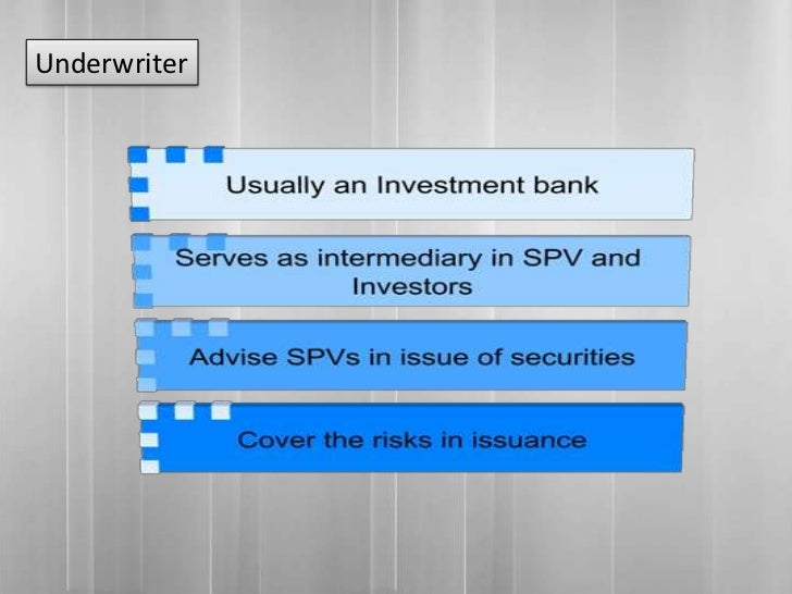 """asset backed securitization special purpose vehicles and The lender, in turn, can sell these assets to a trust or """"special purpose vehicle,"""" which packages them into an asset-backed security that can be sold in the public market the interest and principal payments made by consumers """"pass through"""" to the investors that own the asset-backed securities."""
