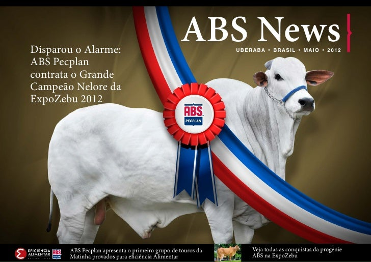 Disparou o Alarme:                                                 ABS News    UB ER A B A • B R A SI L • MA I O • 2 0 1 2...