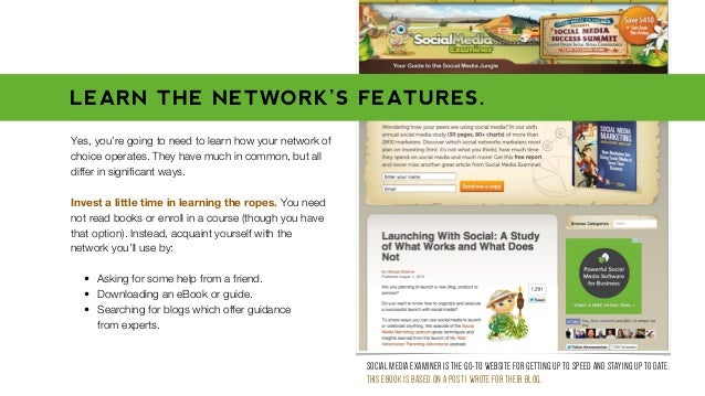 Yes, you're going to need to learn how your network of choice operates. They have much in common, but all differ in signifi...