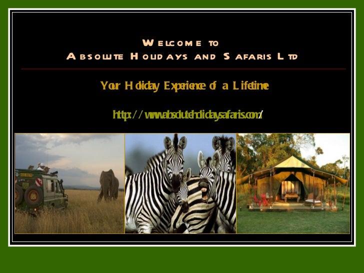 Affordable Safari Holidays and Tours to Kenya and Tanzania