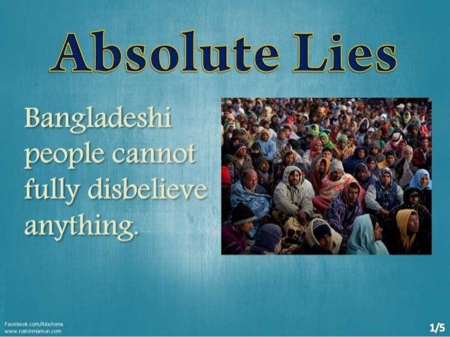 Absolute Lies