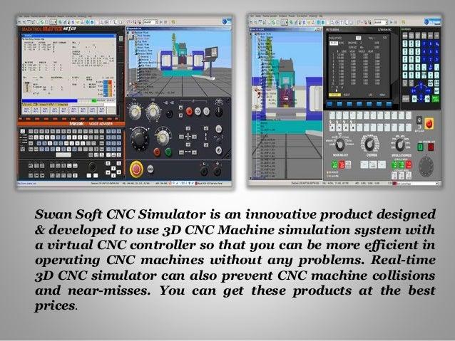 Absolute manufacturing procedure of cnc machine simulator