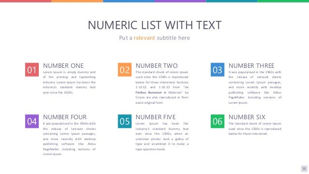 Absolute multipurpose powerpoint template 03 31 31 numeric list toneelgroepblik Choice Image